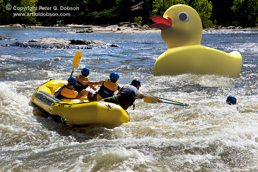 Chattahoochee Rafters and the Giant Duck