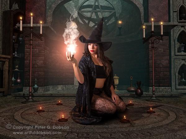 Fantasy Halloween Witch